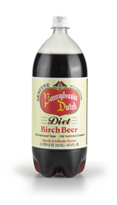 Diet Birch Beer 2 Liter Bottles (Case of 8)
